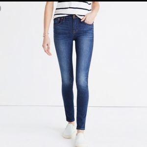 "Madewell 9"" High Riser Skinny Skinny Jeans 26"